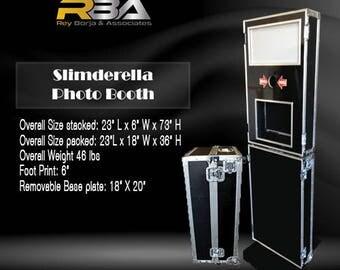 RBA Slimderella 6″ Photobooth Shell  (D.I.Y.) ENCLOSURE