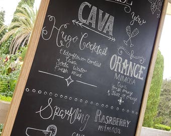 Personalised 'CAVA' Sign