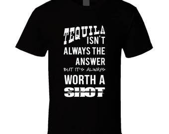 Funny Tequila Shirt Tequila T-Shirt Tequila TShirt Tequila T Shirt Tequila Tee  Tequila Shirts Funny Tequila TShirt Tequila Gifts Tequila