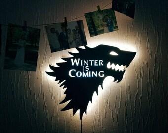 Game of Thrones lamp Night lights