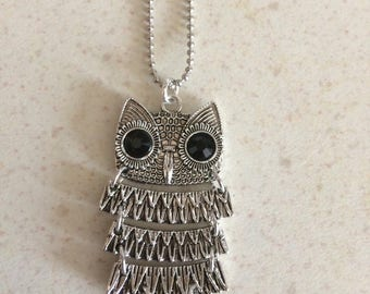 Pendant OWL articulated body height 5 cms