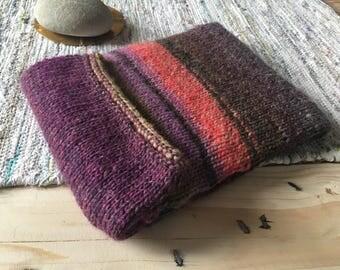 Pochette en tricot pour tablette