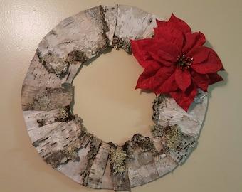 Birch Bark Wreath