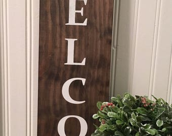 Welcome Sign | Entryway Sign