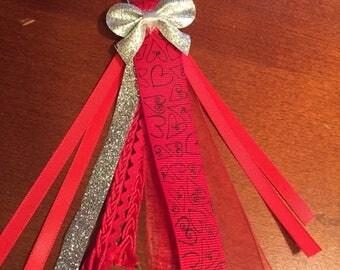 Valentine's Planner Tassel; Purse Tassel; Planner Charm; Keychain