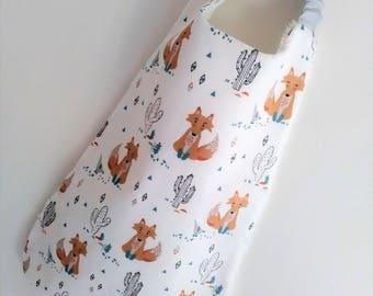 Towel canteen native Fox patterns