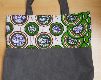 AFRICAN FABRIC BAG