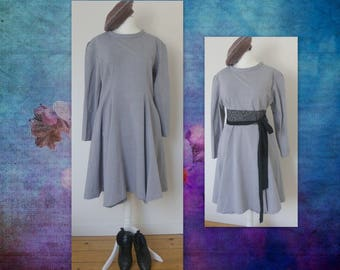 Dress fitted cotton L