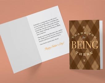 Card For A Person Who Acted Like Your Father