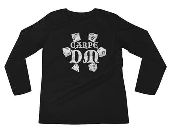 Carpe DM Funny DND Long sleeves RPG Dungeon Boardgame