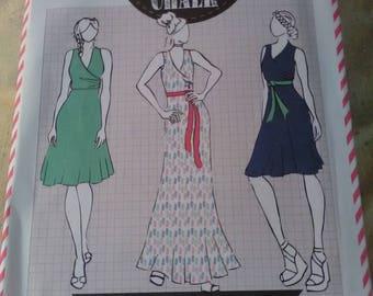 Brand new sewing pattern. Cotton + Chalk 7 The Lily Dress. Sizes 6-20