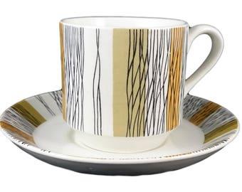 Midwinter 'Sienna' Demitasse Cup & Saucer
