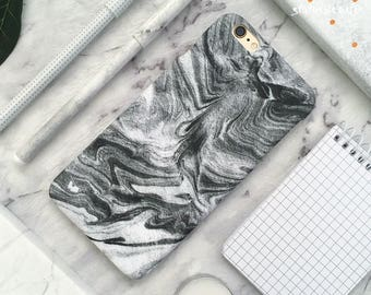 Marble Sand iPhone Case iPhone X Case iPhone 8 Case iPhone 8 Plus Case iPhone 7 Case iPhone 7 Plus Case iPhone 6S Case 6S Plus Case White