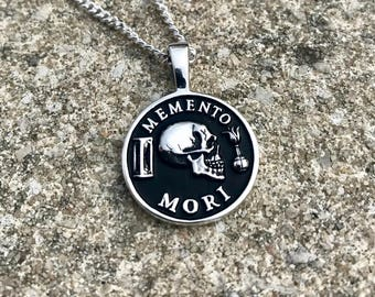 Memento Mori Pendant & Necklace