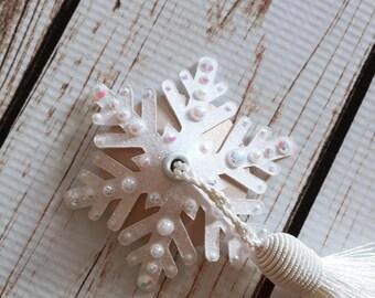 Snowflake Illusion Tassels or Pasties