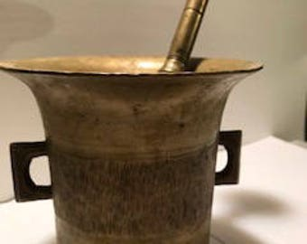 Mortar and Pestle - Late 1800s to Early 1900's