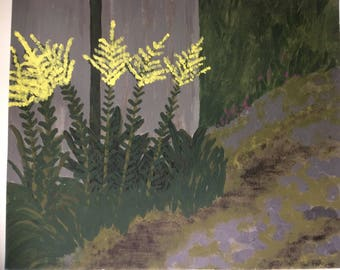"Painting ""Goldenrod"""