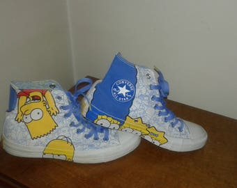 Shoes Sneakers converse all star simpsons occasion