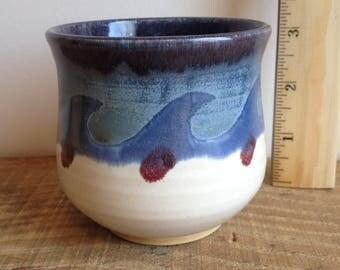 wave cup / ceramic cup / yunomi