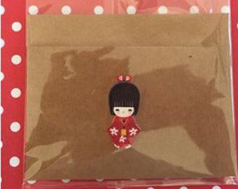 Kimono Individual Card
