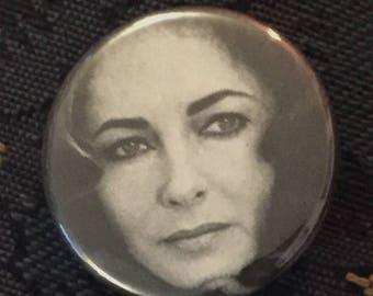 Elizabeth Taylor Button