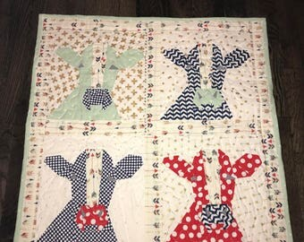Cow Quilt - Baby Quilt - Cows