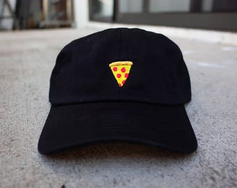 Pizza Six Panel Unstructured Baseball Cap Dad Hat