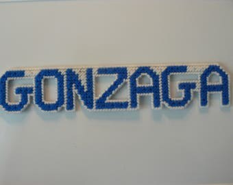 GONZAGA in Handmade, Needlepoint magnets
