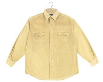 Cord Shirt- Beige
