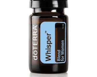Doterra Whisper Essential Oil Blend for Women 5mL bottle