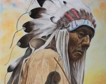 The Chief, Head Indian