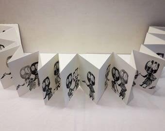 """Artist Leporelo """"Japanese knives"""""""