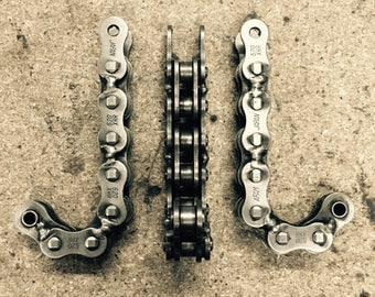 Hook racks with bike chain - Coat rack hanger motorcycle chain