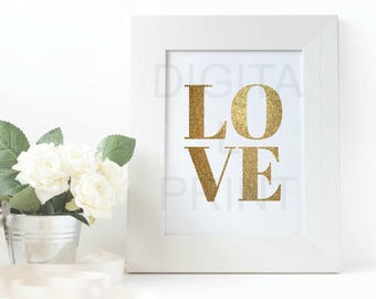 Love | Home Decor | Digital Print