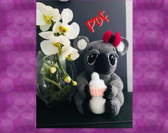 Tuto/pattern PDF kala le koala crochet