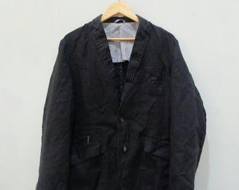 VANSPORTS Light Coat Blazer Suit Smart Casual Japanese Style Rare!! Vintage