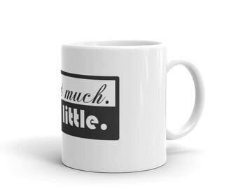 Resist Much. Obey Little Rebel Mug made in the USA