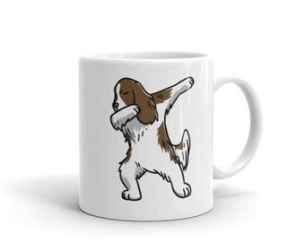 Cute Dabbing English Springer Mug Funny Dab Dance Dog Gift