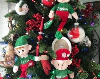 Personalized Plush Elf