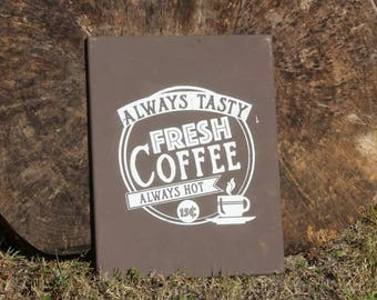 Coffee wall hanging