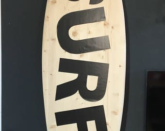 Magnetic Deco Surfboard