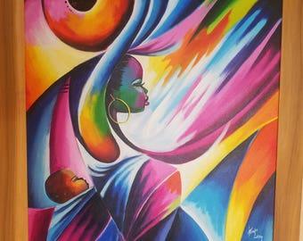 Ghanaian Artist - Komla Letsu - Mother