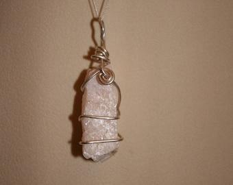 Peach Moonstone necklace