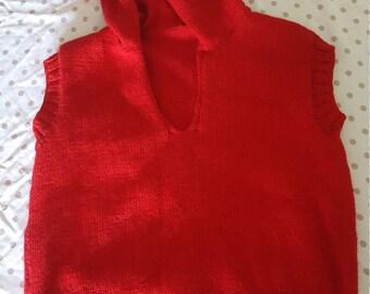 Child's hooded vest