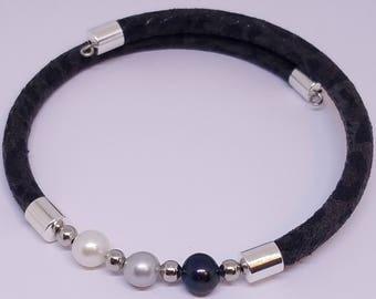 Pearl Wrap Bracelet