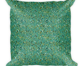 See Me Now Square Pillow