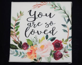 You Are So Loved Wall Hanging