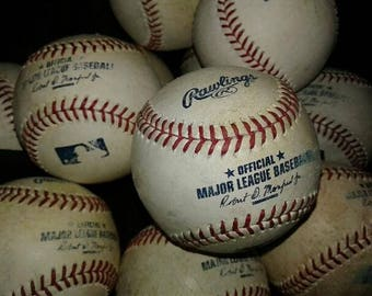 Great for ART PIECES or Gifts. Use Authentic Major League Baseballs, Used by MLB Players. Design Sculptures & More with Official Pro Balls