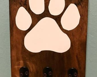Dog Paw Leash Holder