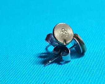 Bullet Casing Earrings .22